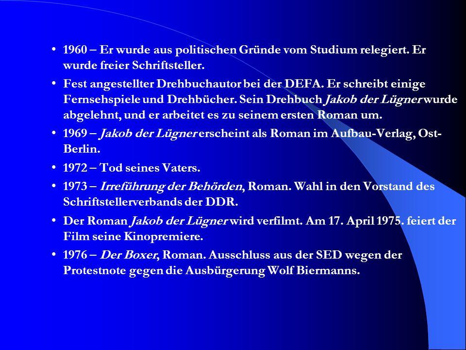 Zitate Aus dem Essay Mein Judentum (1977): –Wenn es kein Antisemitismus geben würde, hätte ich mich auch keine Sekunde als Jude gefühlt.