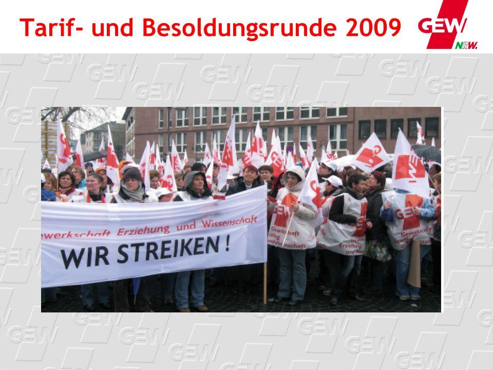 Zeitlicher Ablauf: Warnstreik und Streik Streikzentren organisieren - Schule dicht und zum Treffpunkt.