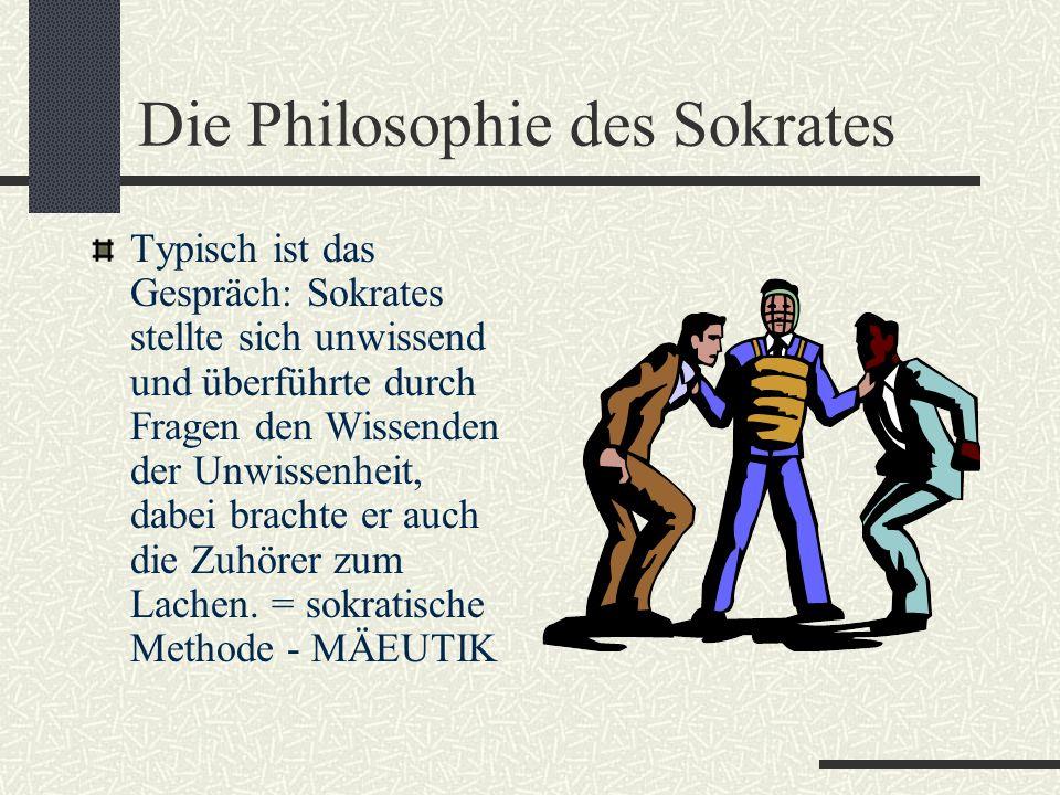 Seine Philosophie Er beschäftigt sich mit philosophischer Ethik. Erkenne dich selbst! Die Philosophie soll den Menschen vervollkommnen, sie kann es, w