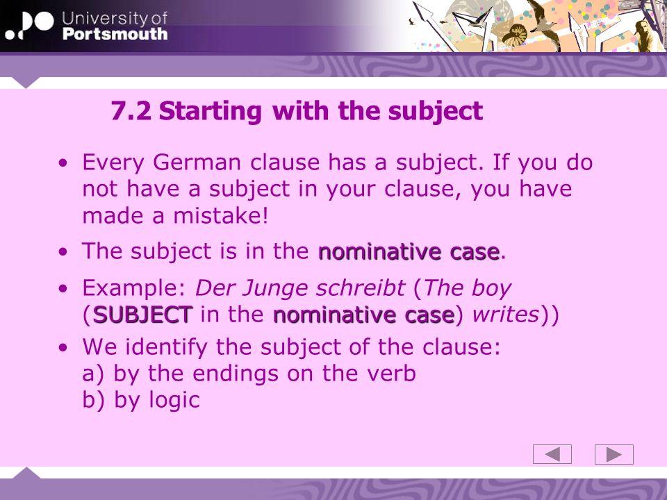 7.33 Case endings: jeder
