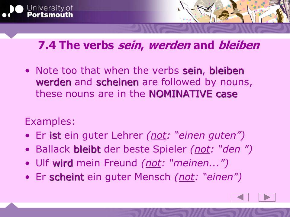 7.15 Dative verbs of (mis-)trusting glauben: glaube dirglauben: Natürlich glaube ich dir.
