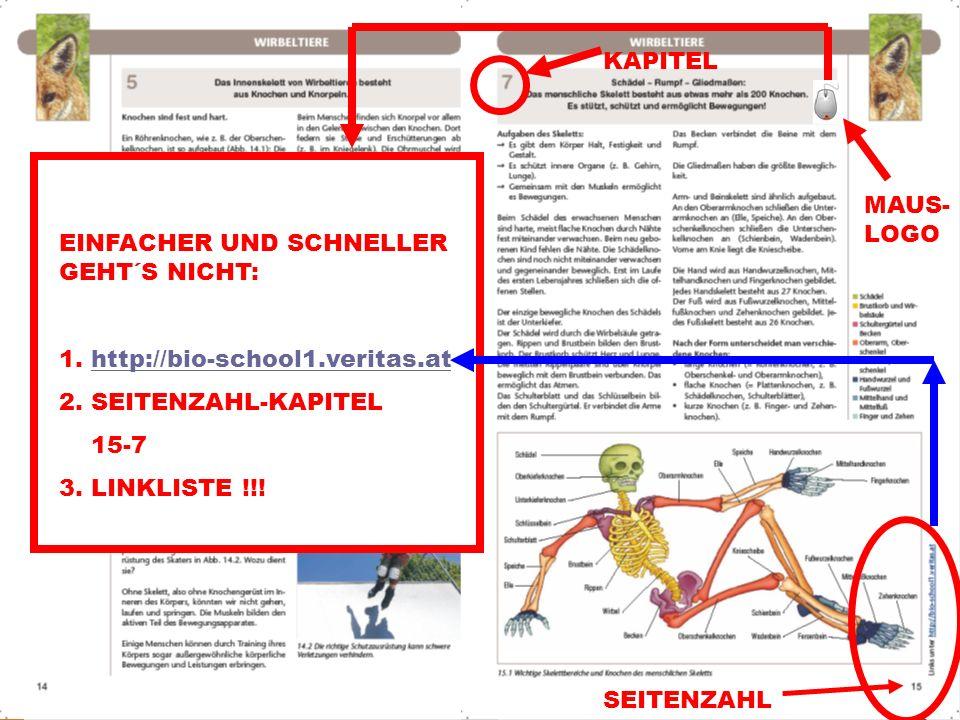 © A. Schermaier 2012 06.04.2014 © A. Schermaier – PH-OOE _Biologie_2010 EINFACHER UND SCHNELLER GEHT´S NICHT: 1. http://bio-school1.veritas.athttp://b
