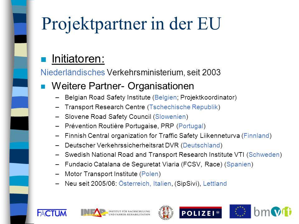Ausgangslage n Kampagne Gurte retten Leben 2005 n im Ortsgebiet, auf Freilandstrassen, auf Autobahnen vom 1.