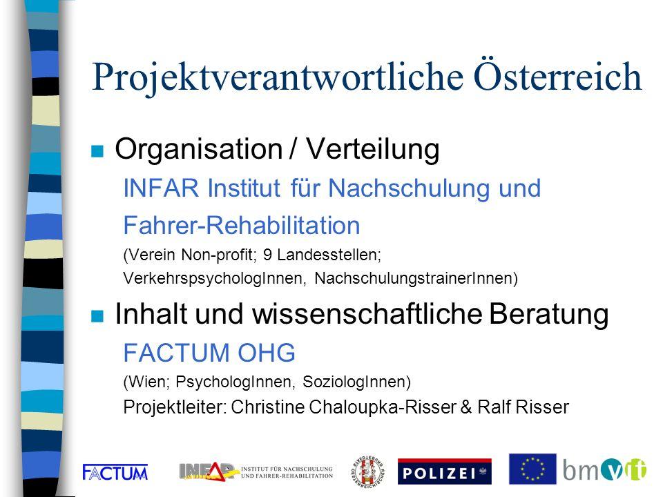 Website - Kontaktadresse n www.gordy.at n Danhausergasse 6/4, A-1040 Wien –Tel: 01 / 504 15 46; e-mail: infar@factum.at n Institute: –FACTUM OHG und –INFAR-Wien n Kontaktpersonen: –Dr.