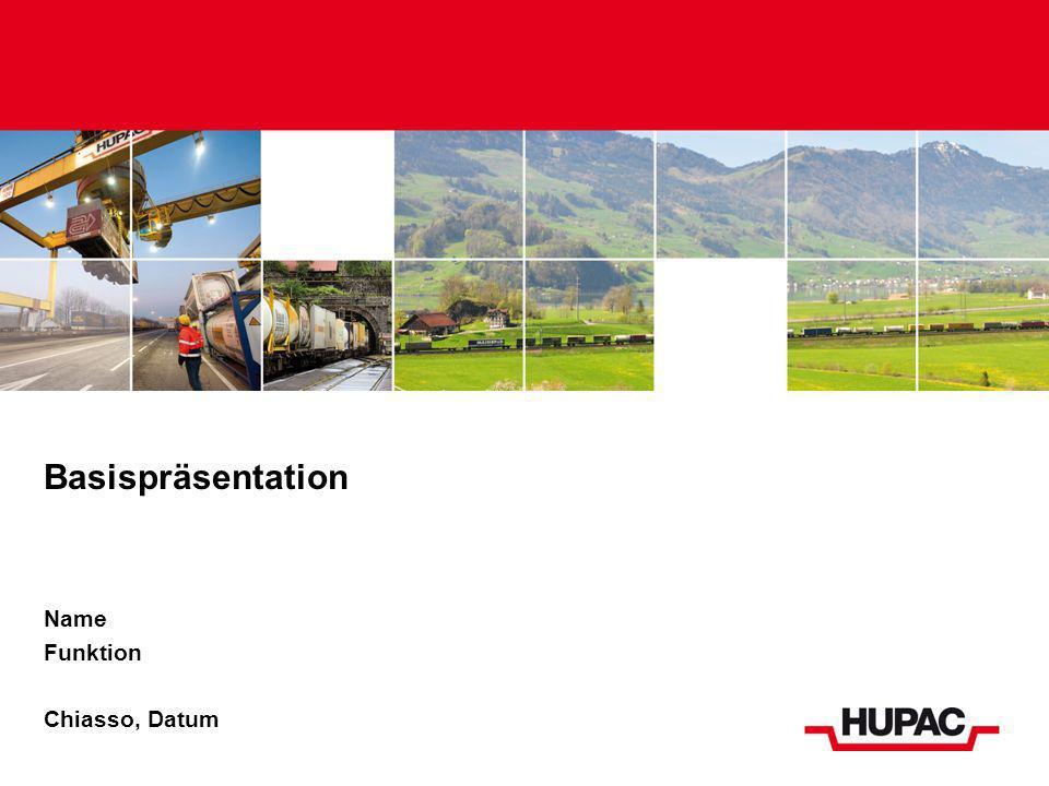 Inhalt Profil der Hupac Gruppe Organisation Geschäftsmodell Wirtschaftliche Verantwortung Angebot Ressourcen Rollmaterial Terminals IT Traktion Umweltverantwortung Gesellschaftliche Verantwortung