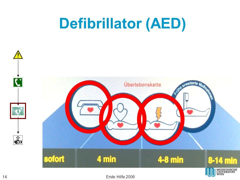 Erste Hilfe 200614 Defibrillator (AED)