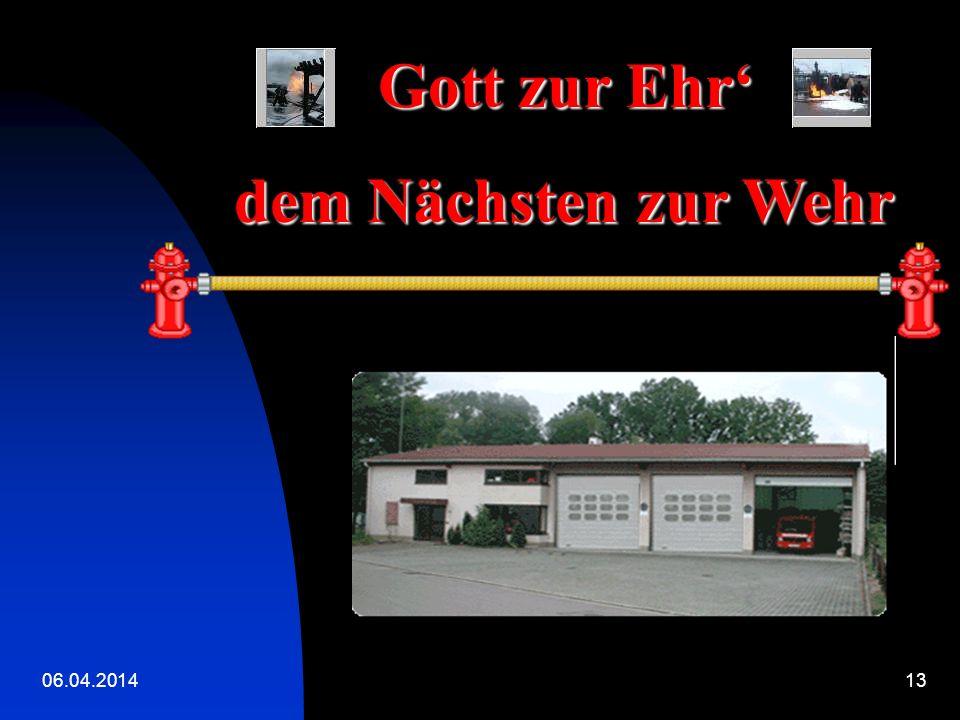 06.04.201412 DIENSTAG Feuerwehr Am DIENSTAG freu ich mich schon sehr, denn ich geh zur Feuerwehr.