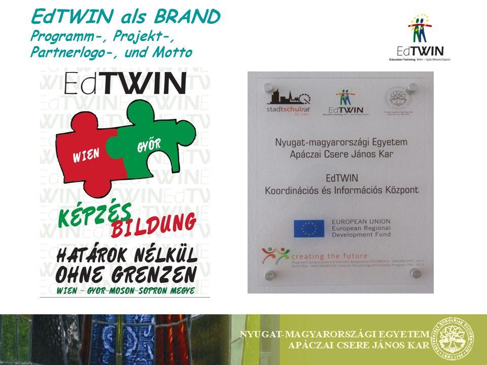 EdTWIN als BRAND Programm-, Projekt-, Partnerlogo-, und Motto