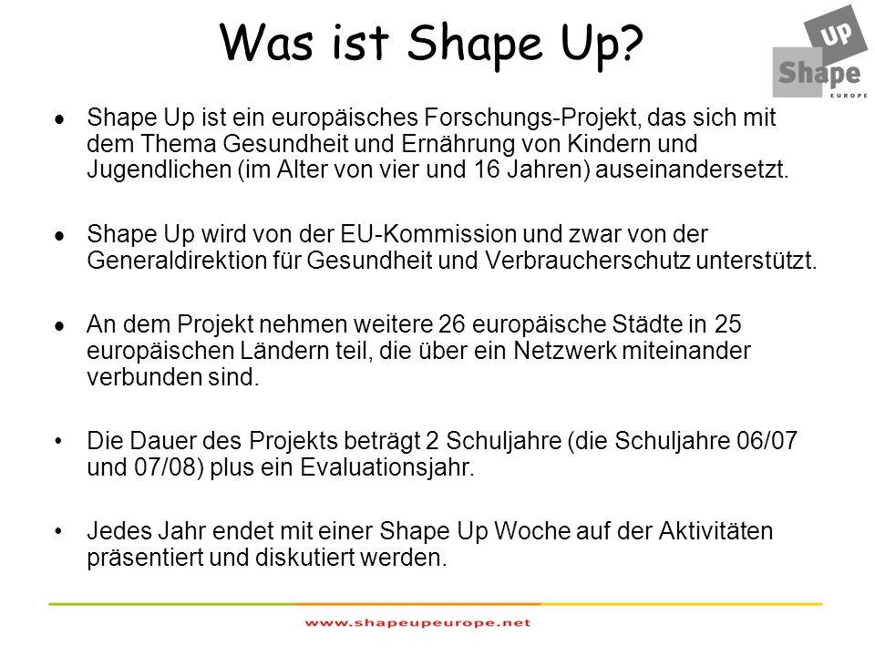 Was ist das Ziel von Shape Up.