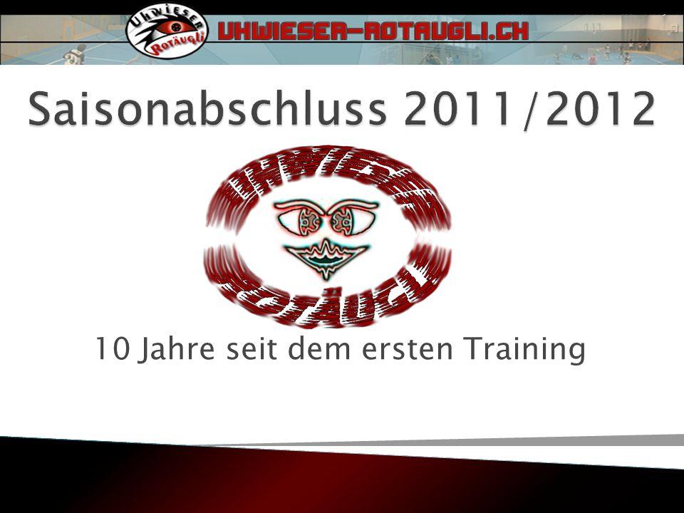 10 Jahre seit dem ersten Training