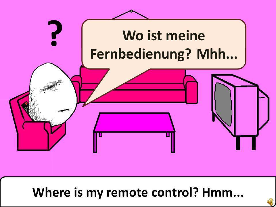 Das ist mein Fernseher. Ich mag fernsehen. That is my TV. I like watching TV.