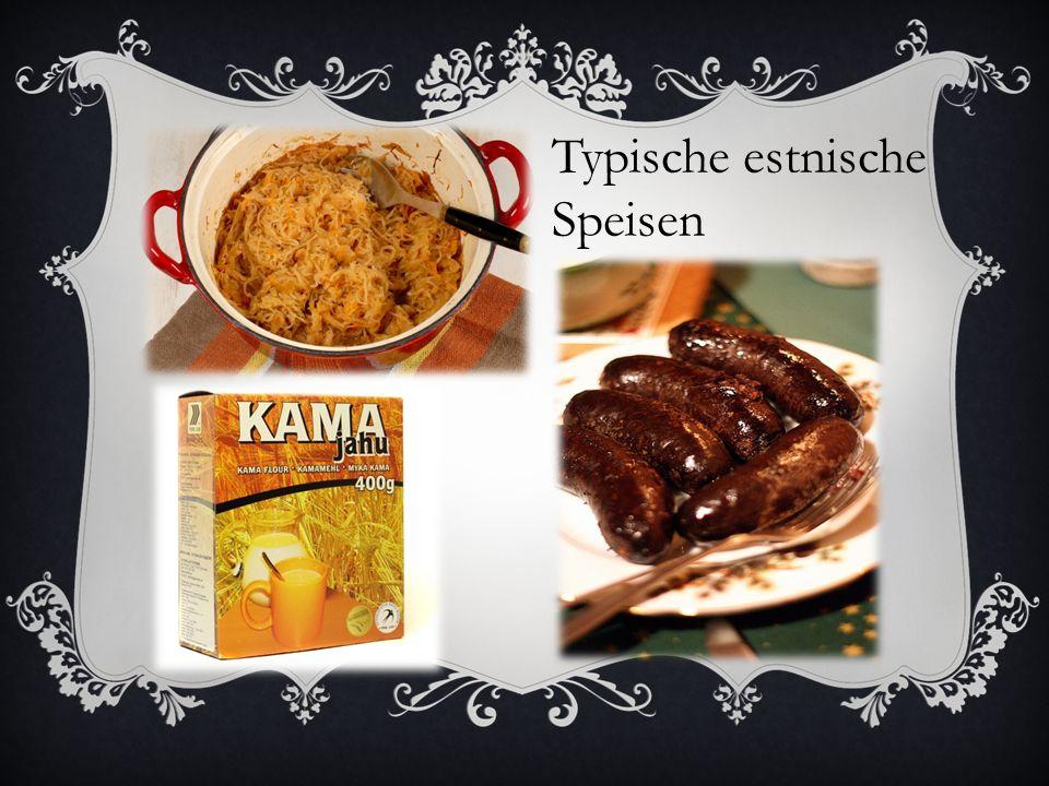 Typische estnische Speisen