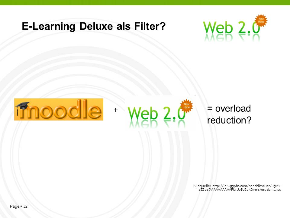 Page 32 E-Learning Deluxe als Filter.