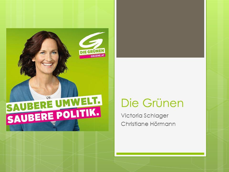 Die Grünen Victoria Schlager Christiane Hörmann