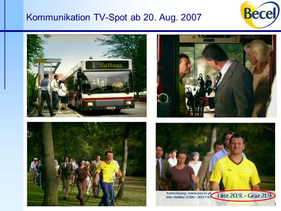 20 Kommunikation TV-Spot ab 20. Aug. 2007
