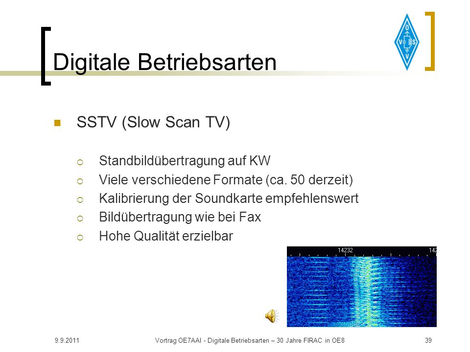 9.9.2011Vortrag OE7AAI - Digitale Betriebsarten – 30 Jahre FIRAC in OE838 Digitale Betriebsarten PACTOR Vereint Vorteile von AMTOR und Packet Erfinder