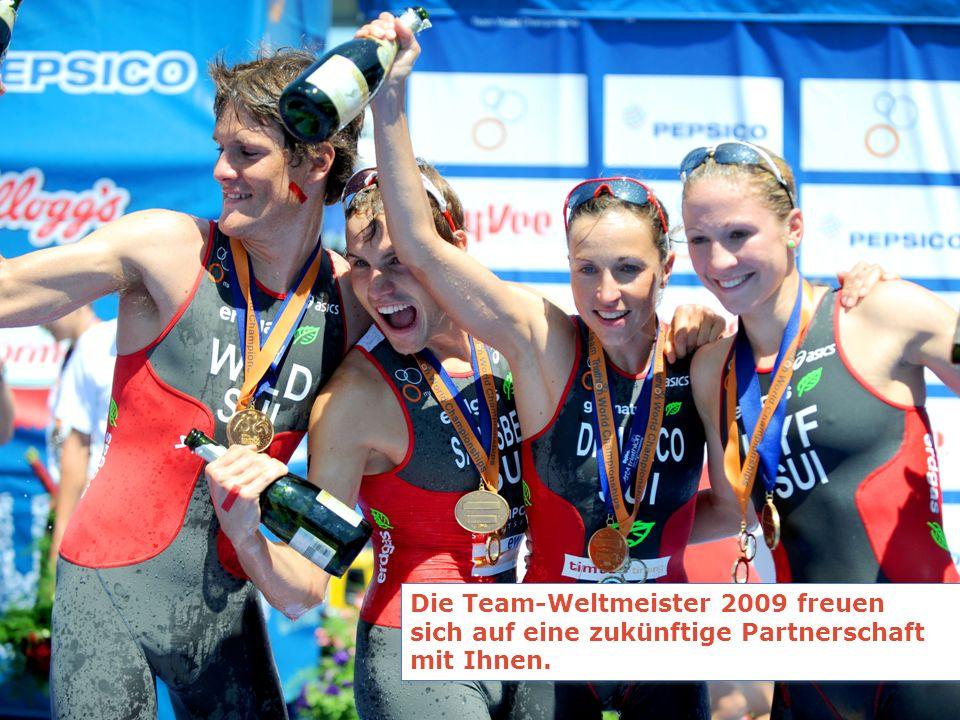 Die Team-Weltmeister 2009 freuen sich auf eine zukünftige Partnerschaft mit Ihnen.