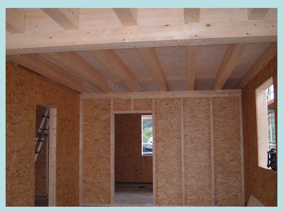 Innenausbau Dämmung des Dachstuhls Dämmung der Wände Fenster und Türe Grundputz Außen Verlegung der Elektrik Sanitärinstallation