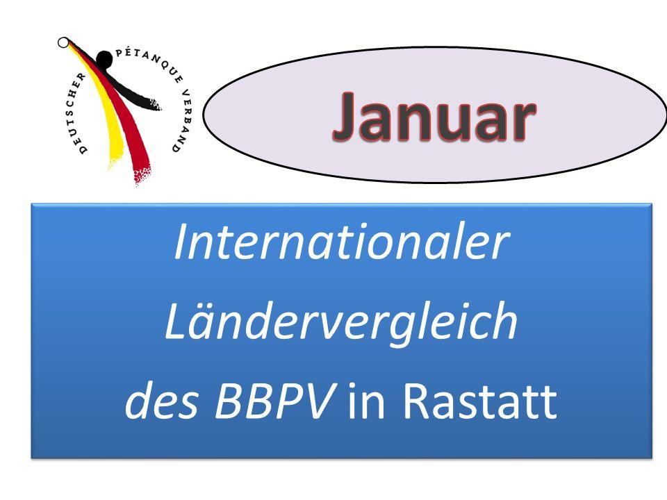 erstmals seit langer Zeit wieder mit DPV-Beteiligung und zwar mit: erstmals seit langer Zeit wieder mit DPV-Beteiligung und zwar mit: Internationaler Ländervergleich des BBPV in Rastatt Internationaler Ländervergleich des BBPV in Rastatt