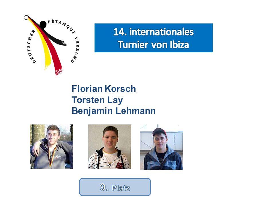 Florian Korsch Torsten Lay Benjamin Lehmann