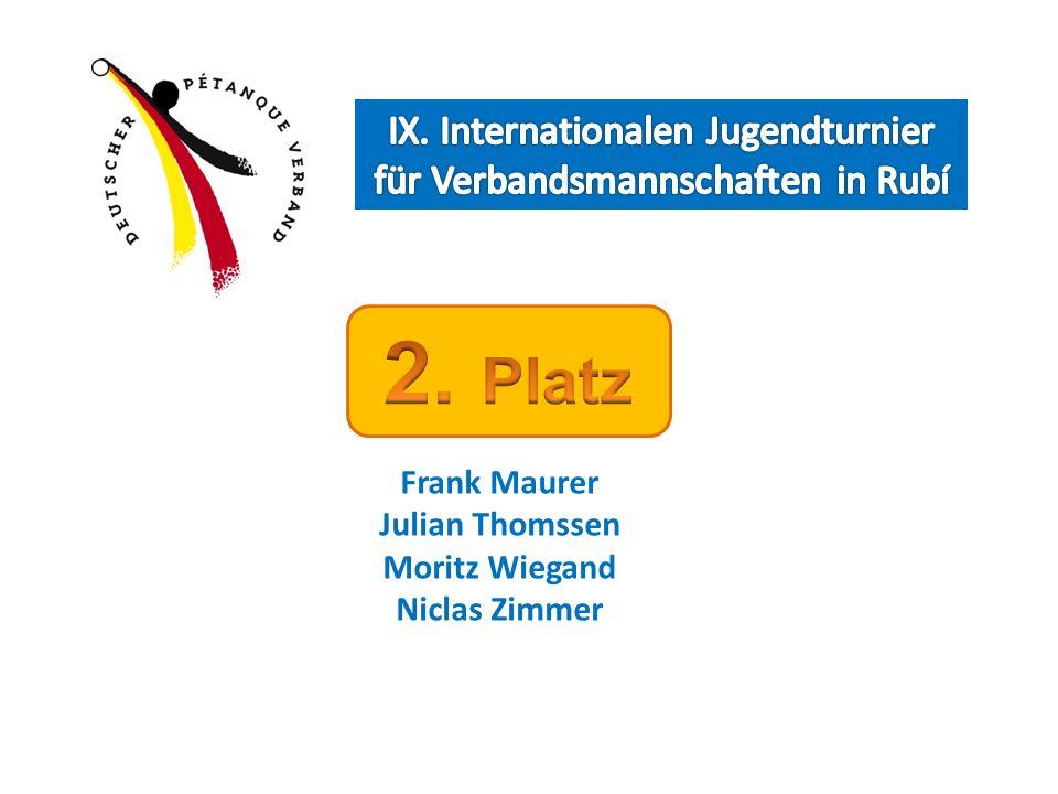 Frank Maurer Julian Thomssen Moritz Wiegand Niclas Zimmer