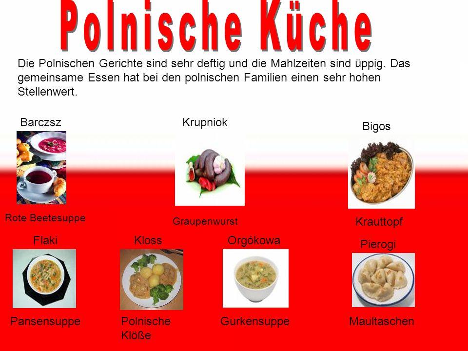 Inhaltsverzeichnis: Seite 1: Polnische Küche Seite 2: Neujahr & Namenstage Seite 3: Ostern Seite 4: Weihnachten Seite 5: sonstige Feiertage