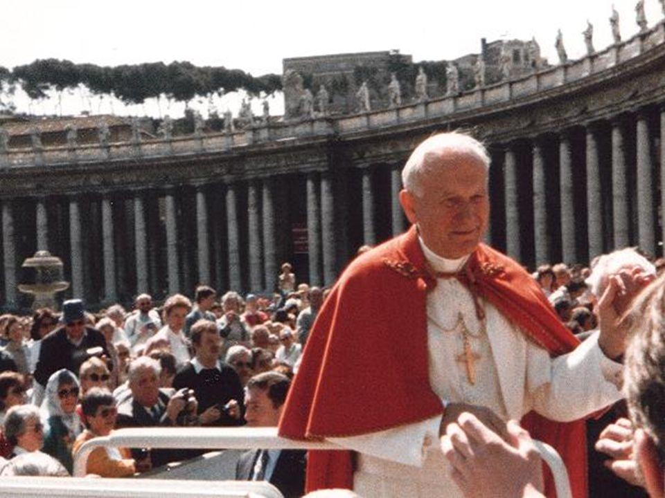 Johannes Paul II Johannes Paul II. bürgerlicher Name Karol Józef Wojtyła, *18. Mai 1920 in Wadowice, Polen; 2. April 2005 in der Vatikanstadt war vom