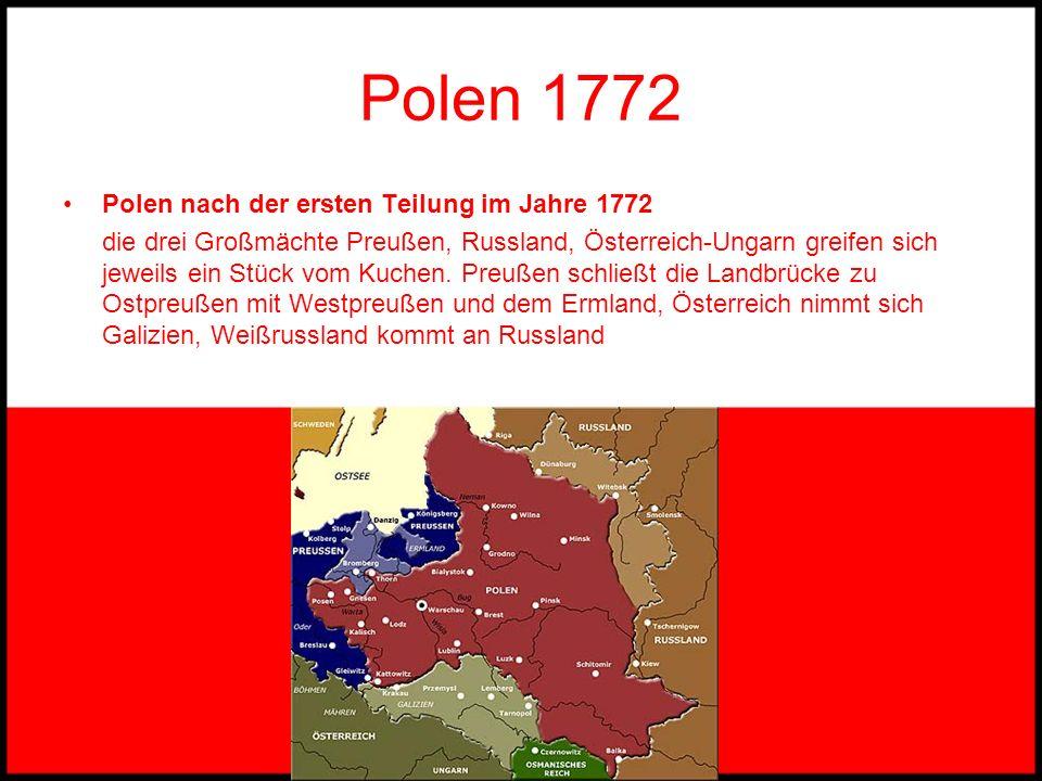 Polen um 1500 Polen um 1500 Nach der Zerschlagung des Deutschen Ordens wird Polen vorübergehend durch die Union mit dem Großfürstentum Litauen eine eu