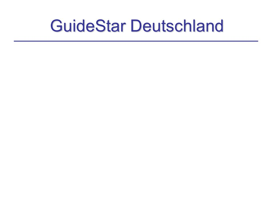 GuideStar Deutschland