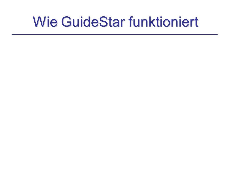 Wie GuideStar funktioniert