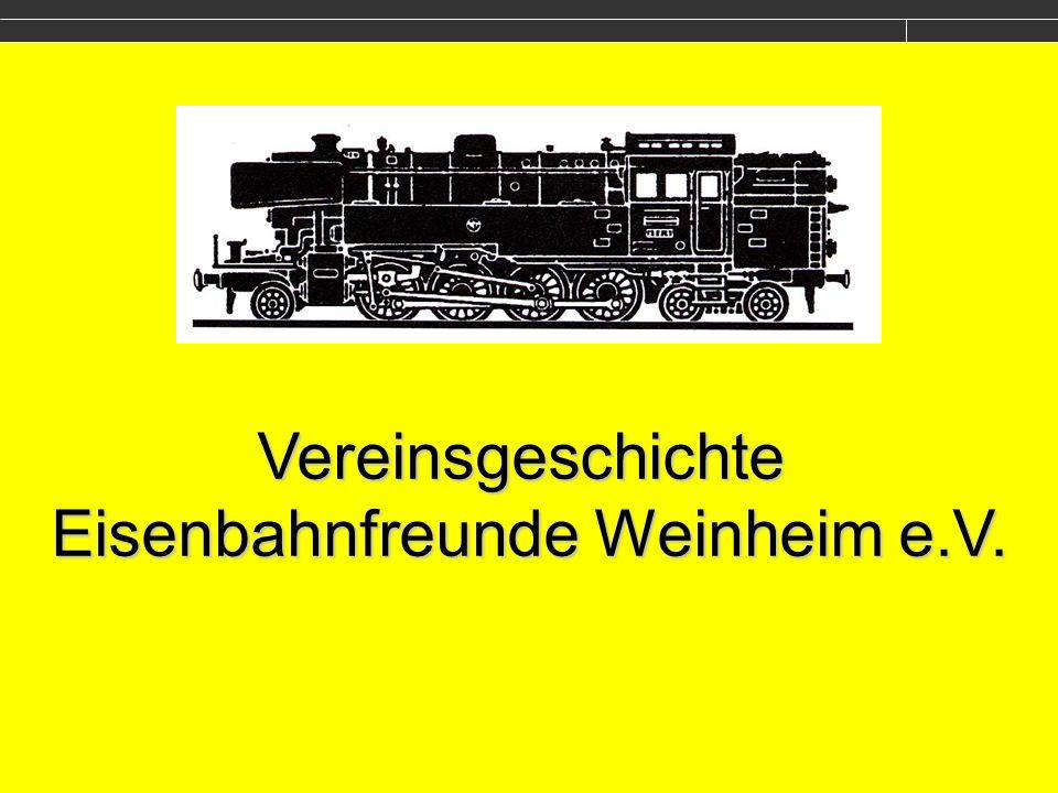 Strecke Weinheim-Waldmichelbach Dampflokbaureihe 65 Das Vorbild für unser Vereinslogo