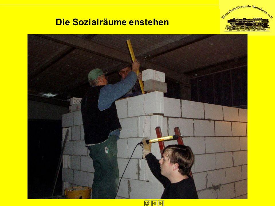 Die Sozialräume enstehen