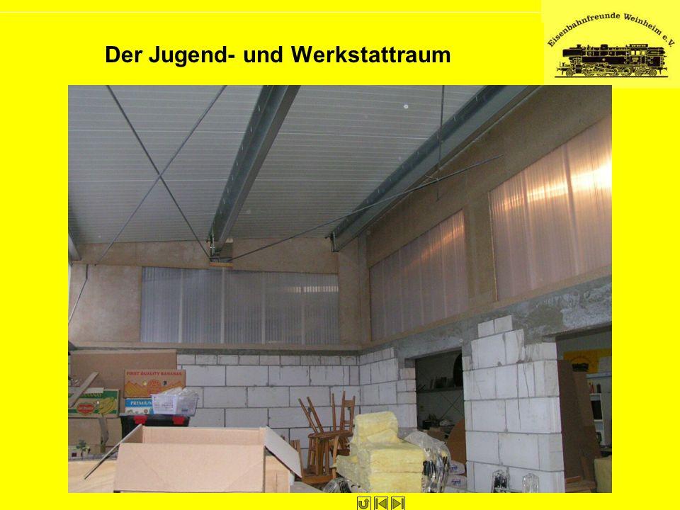 Der Jugend- und Werkstattraum