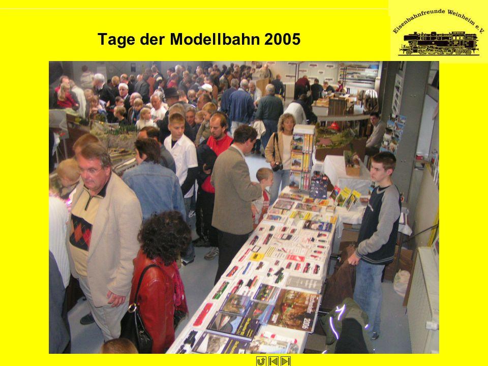 Tage der Modellbahn 2005