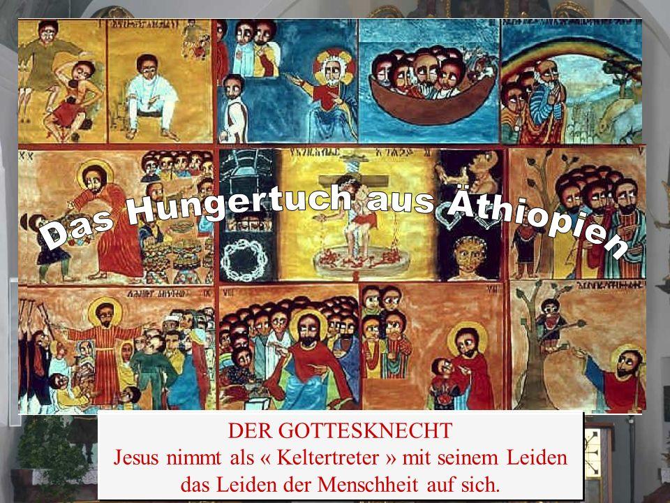 Der orthodoxe Künstler: Alemayehu Bizuneh aus Äthiopien hat fünf biblische Bildergeschichten gemalt Der orthodoxe Künstler: Alemayehu Bizuneh aus Äthi