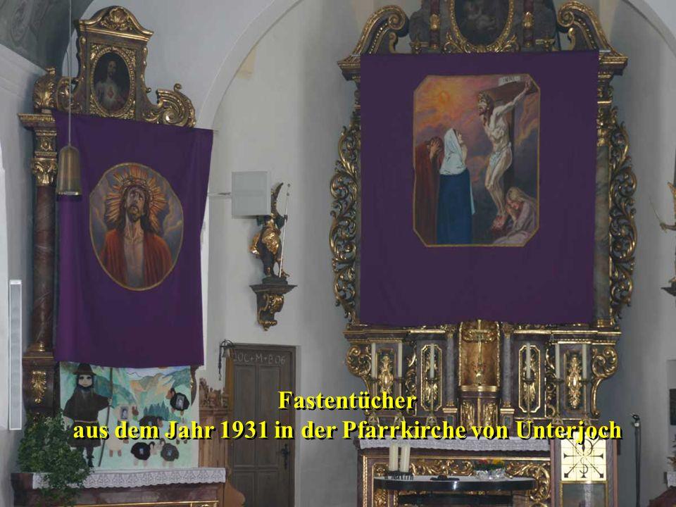 Den wichtigsten Heilsereignissen werden die (sieben) Werke der leiblichen Barmherzigkeit zugeordnet Kranke besuchen.