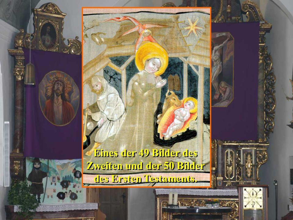 Das Hungertuch von Sieger Köder will den Grundauftrag von Misereor zum Teilen und zum Anders leben ins Bild bringen.