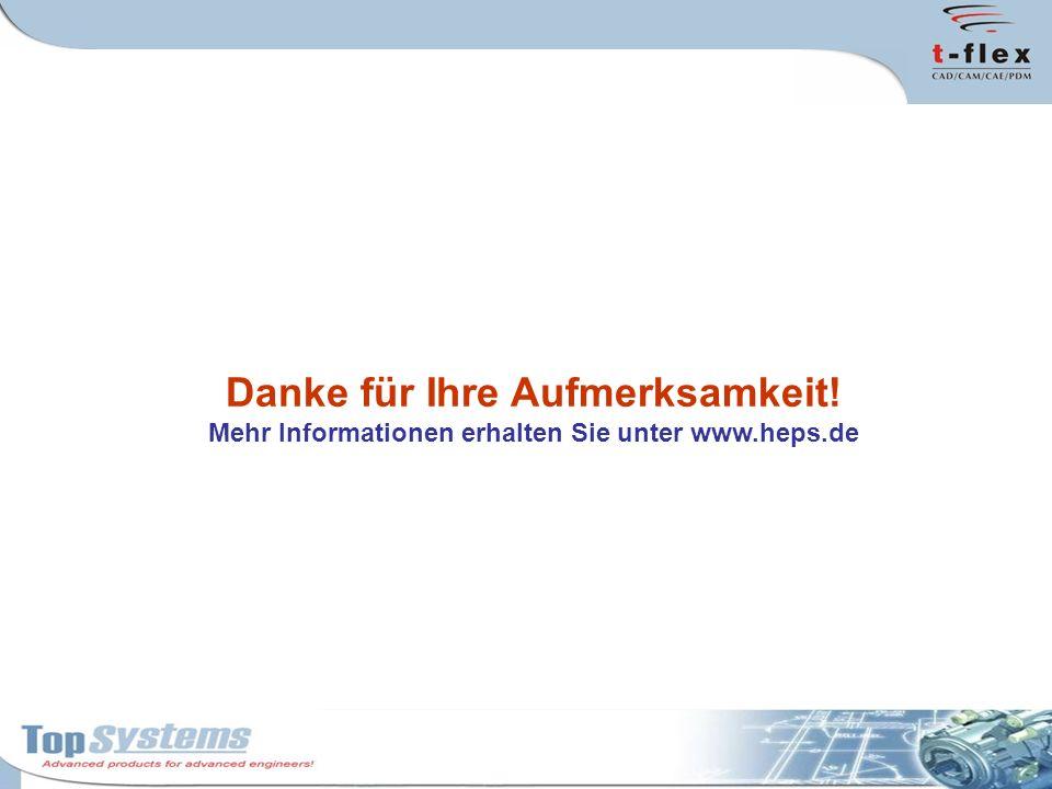 Danke für Ihre Aufmerksamkeit! Mehr Informationen erhalten Sie unter www.heps.de