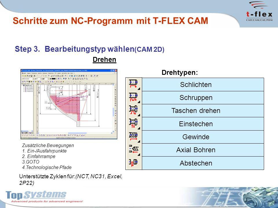 Flexible Modifikation der Postprozessoren in T-FLEX CAM.