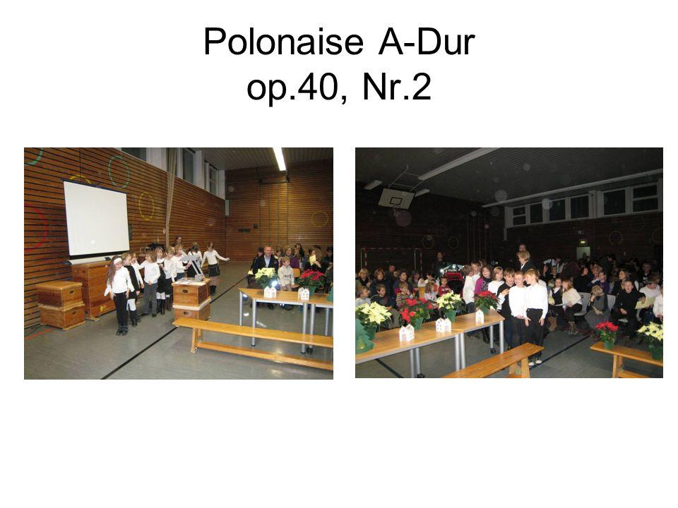 Polonaise A-Dur op.40, Nr.2