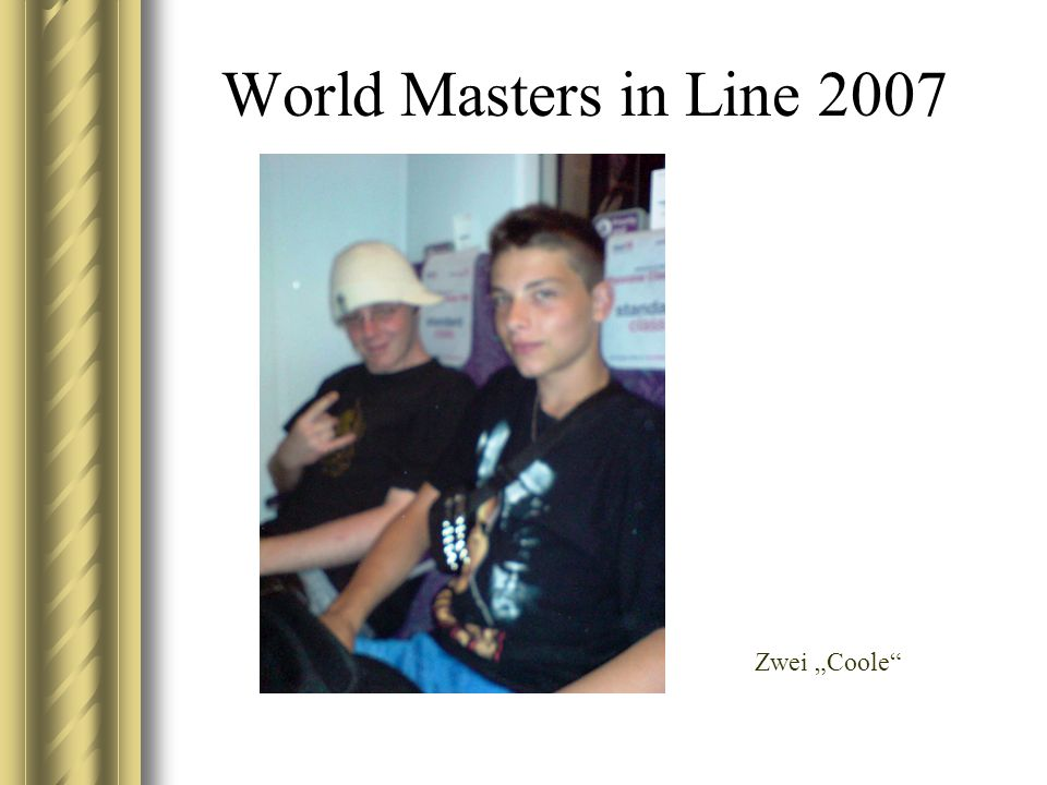 World Masters in Line 2007 Zwei Coole