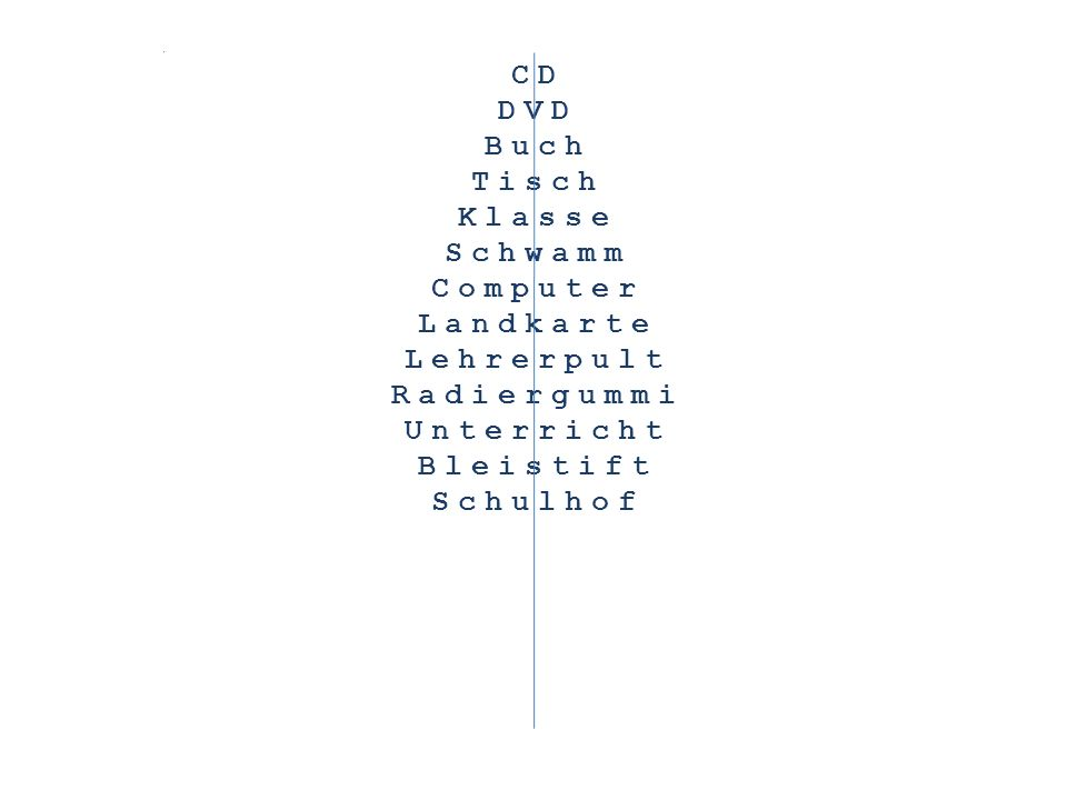 CD DVD Buch Tisch Klasse Schwamm Computer Landkarte Lehrerpult Radiergummi Unterricht Bleistift Schulhof