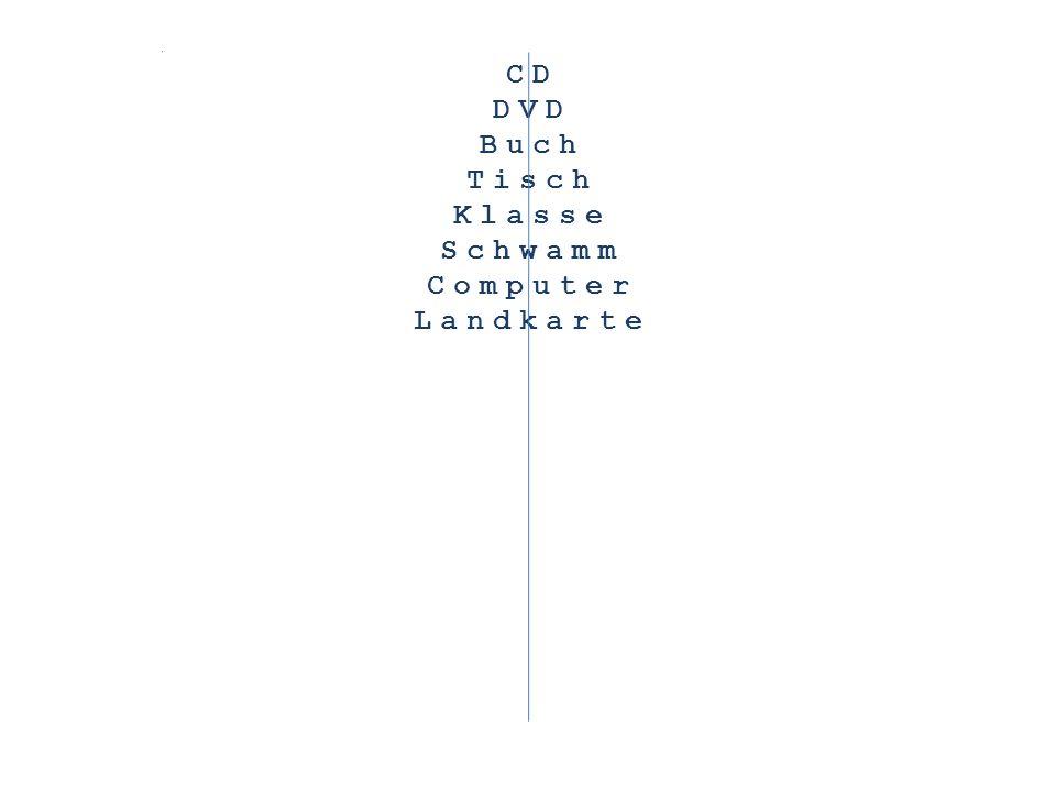 CD DVD Buch Tisch Klasse Schwamm Computer Landkarte Lehrerpult Radiergummi Unterricht Bleistift Schulhof Spitzer Kinder Tafel Heft Bus TV
