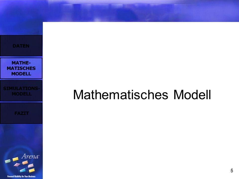 5 Mathematisches Modell