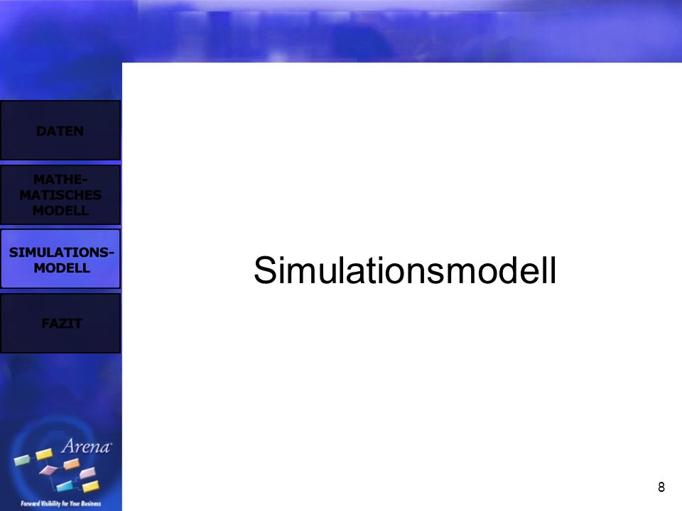 8 Simulationsmodell