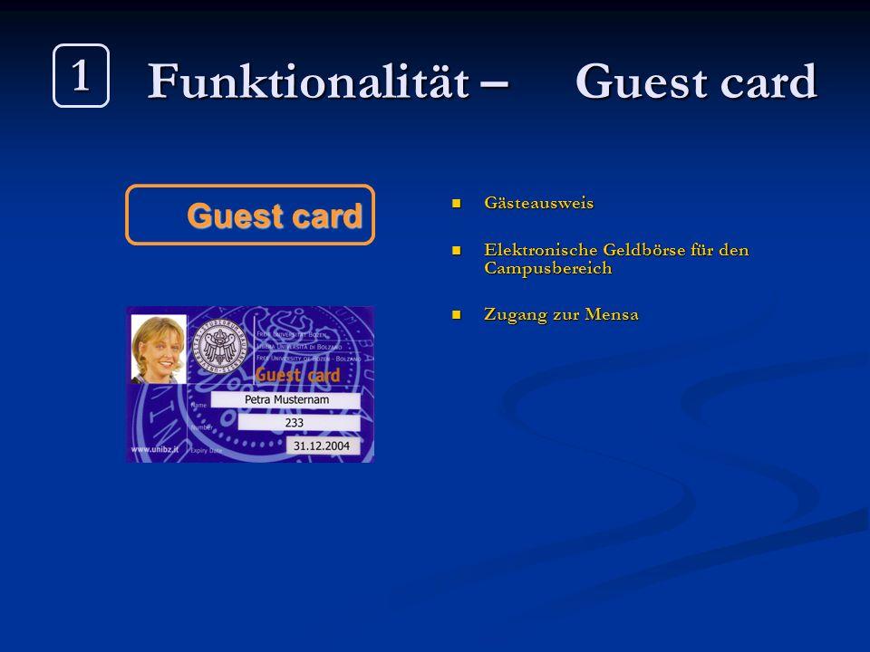 Chip card system www.unibz.it/ict/chipcard Freie Universität Bozen