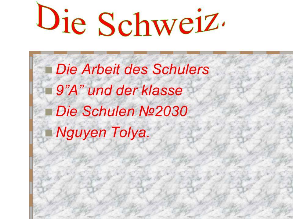 Die Schweiz ist in Mitteleuropa gelegen eben stellt das Berg-alpine Land dar.