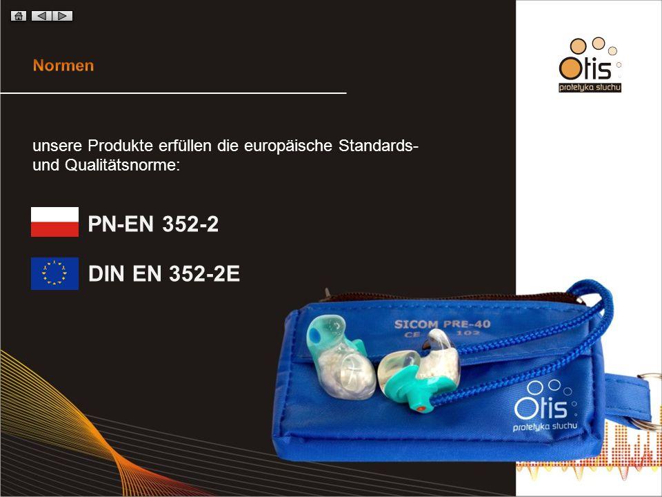PN-EN 352-2 DIN EN 352-2E