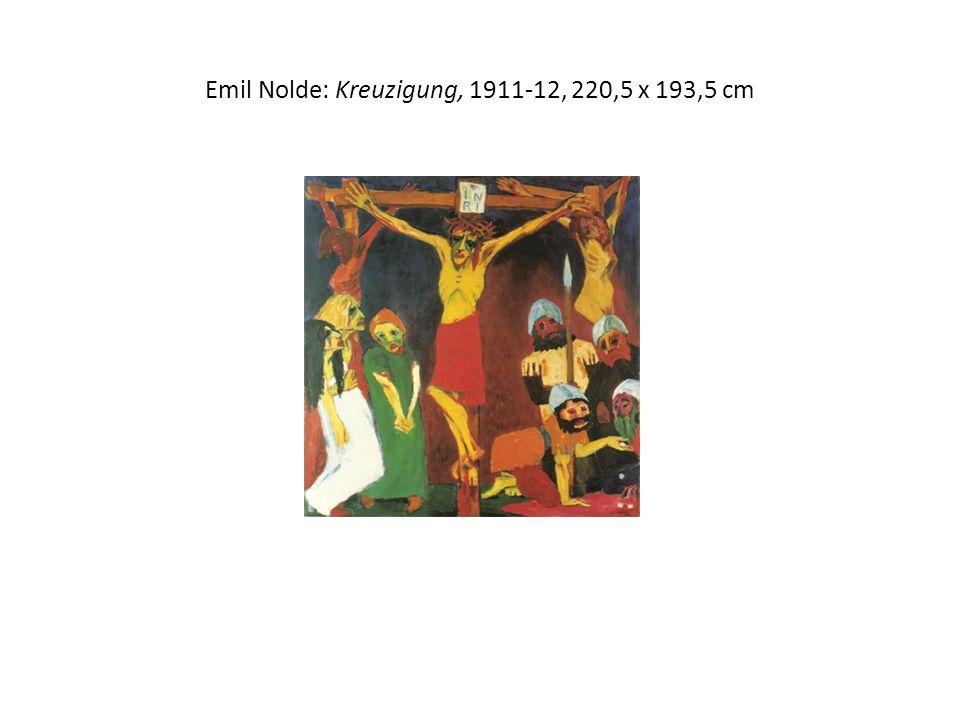 Emil Nolde: Kreuzigung, 1911-12, 220,5 x 193,5 cm