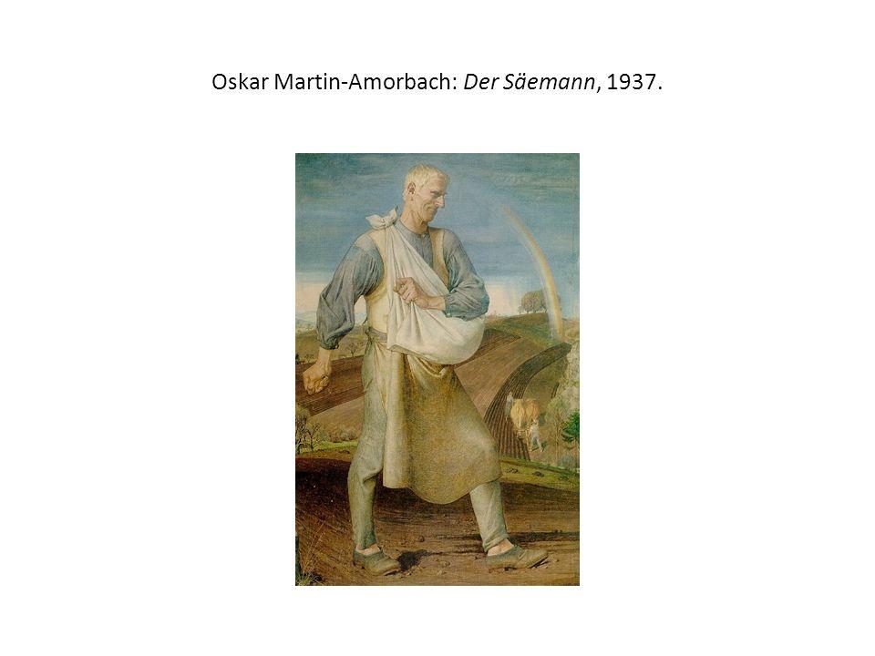 Oskar Martin-Amorbach: Der Säemann, 1937.